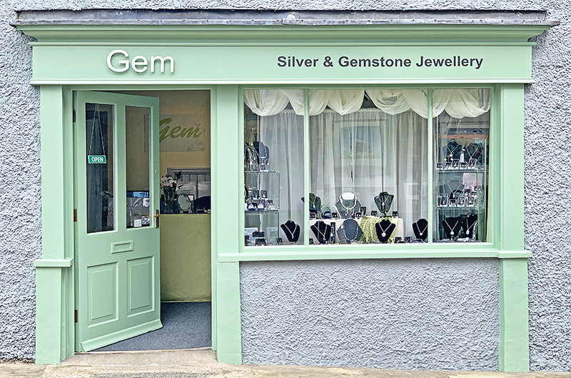 Gem Jewellery Shop in Richmond, Yorkshire